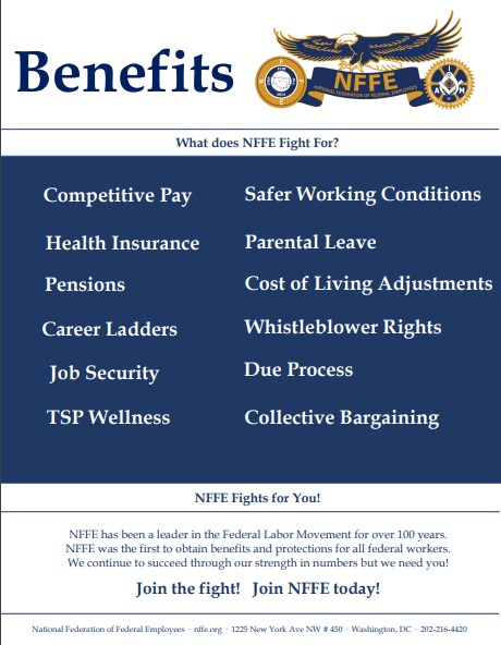 NFFE Fights for your Benefits