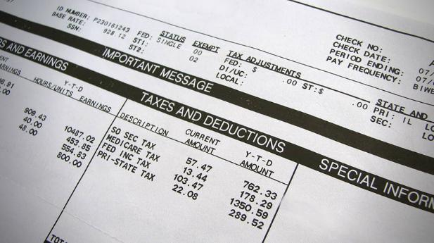 tax deferral-paystub